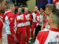 Besprechung mit Coaches