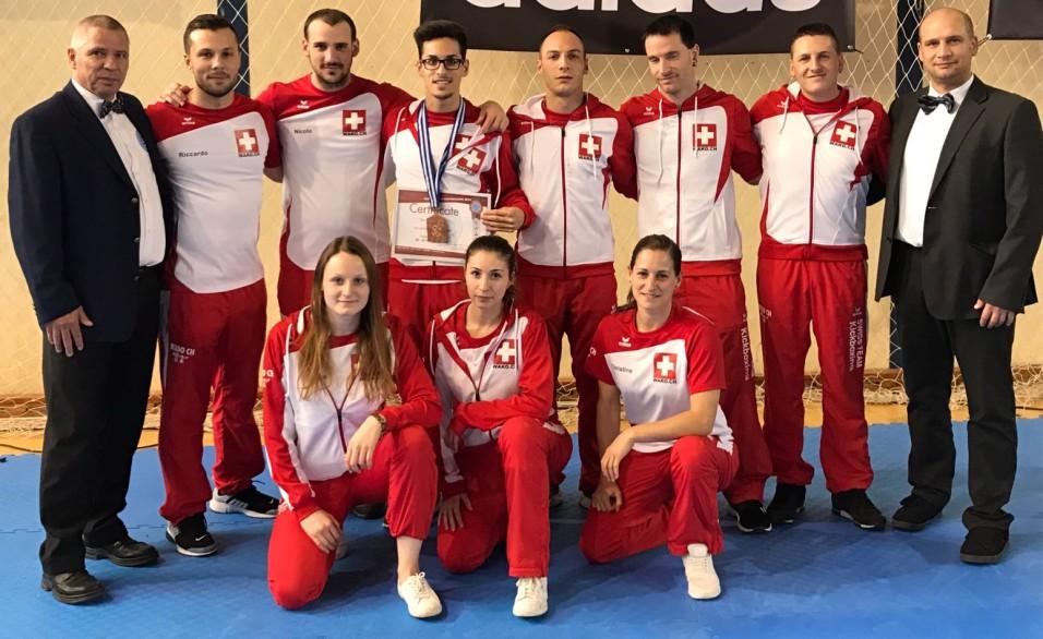 von links stehend: Rienus, Riccardo, Nicolo, Danylo, Antonio, Remo, Andrea, Antonio. Sitzend von Links: Cheyenne, Cassandra, Christine